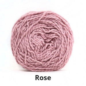 Nurturing Fibres Eco-Cotton Yarn in Rose