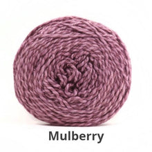 Load image into Gallery viewer, Nurturing Fibres Eco-Fusion Yarn in Mulberry NEW!