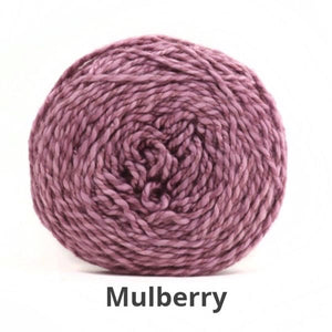 Nurturing Fibres Eco-Fusion Yarn in Mulberry NEW!