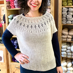 Illimani | Sabri: Organic Cotton & Baby Alpaca Yarn
