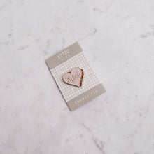 Load image into Gallery viewer, K2TOG Club | Wool Heart: Enamel Pin