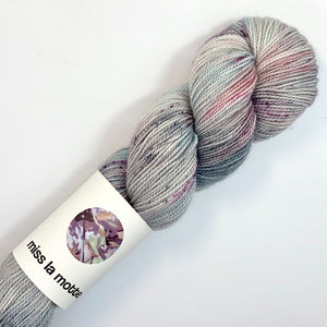 Miss la Motte Twist Sock in Cumulus