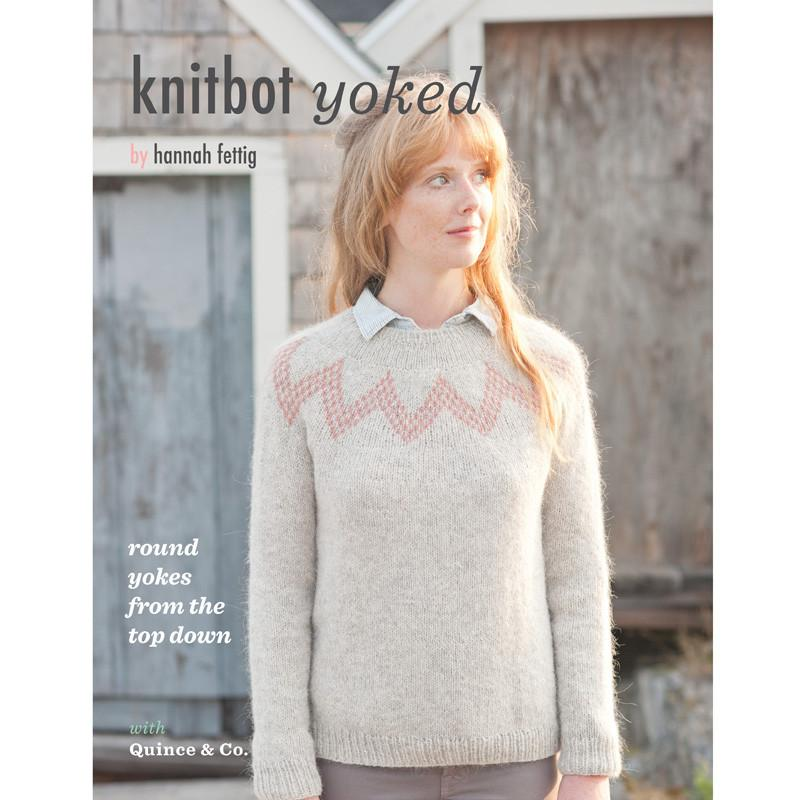 KnitBot Yoked | Four Modern Yoked Patterns & Fair-Isle Knitting