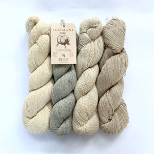 Illimani's Sabri Yarn, 4 full skeins