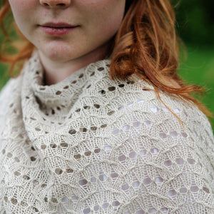 Quince & Co Pattern | Lida Shawl