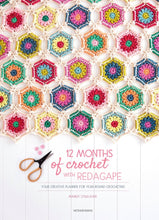 Load image into Gallery viewer, 12 Months of Crochet with RedAgape: Your Creative Planner for Year-Round Crocheting