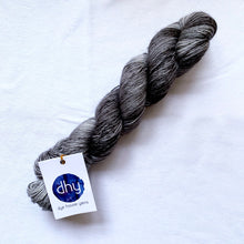 Load image into Gallery viewer, Dye House Yarns Merino Linen Blend in Sooty