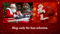 Santa says to shop by December 5 for Standard Shipping