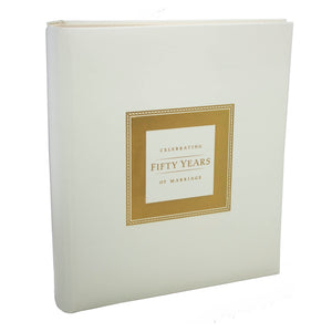50th Anniversary Memory Book