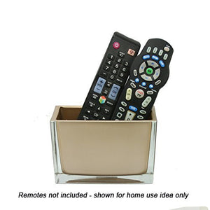 Vase used after party as remote control holder
