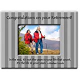 Retirement frame with live your life quote