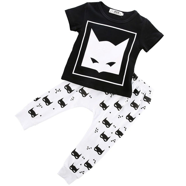 Batman disguise 2 piece set - babybaduco