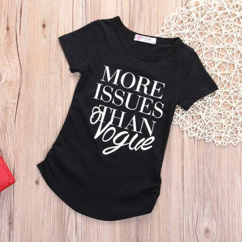 More issues than vogue T-shirt - Butterflybabiesboutique