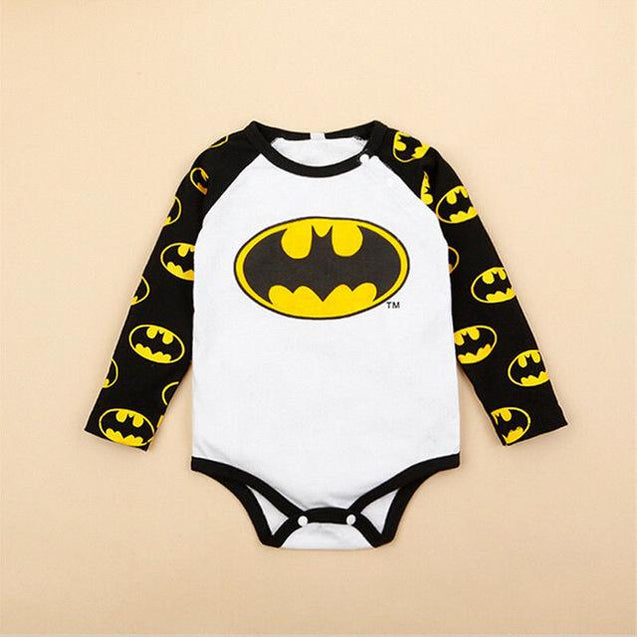 Batman onesie - Butterflybabiesboutique