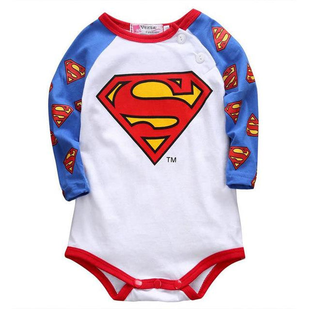 Superman onesie - Butterflybabiesboutique