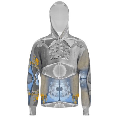 street flight all over print hoodie with swurf 2 graphic-front view