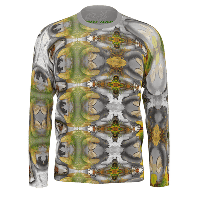 street flight all over print long sleeve t-shirt with my alchemical romance 3 graphic-front view