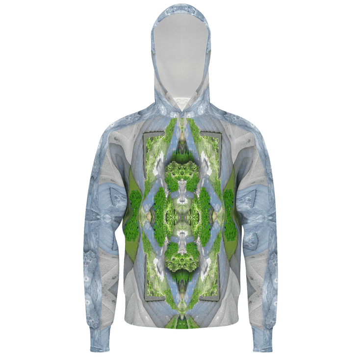street flight all over print hoodie with trophy life 2 graphic-front view