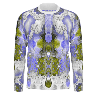 street flight all over print long sleeve t-shirt with my alchemical romance 2 graphic-front view