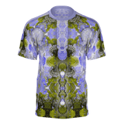 street flight all over print short sleeve t-shirt with my alchemical romance 2 graphic-front view