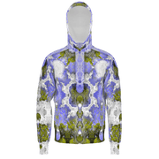 street flight all over print hoodie with my alchemical romance 2 graphic-front view