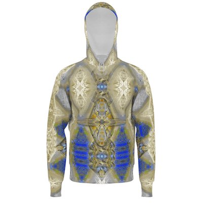 street flight all over print hoodie with my alchemical romance 1 graphic-front view