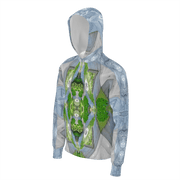 street flight all over print hoodie with trophy life 2 graphic-3/4 front view