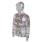 street flight all over print hoodie with miami one-seven 1 graphic-side view
