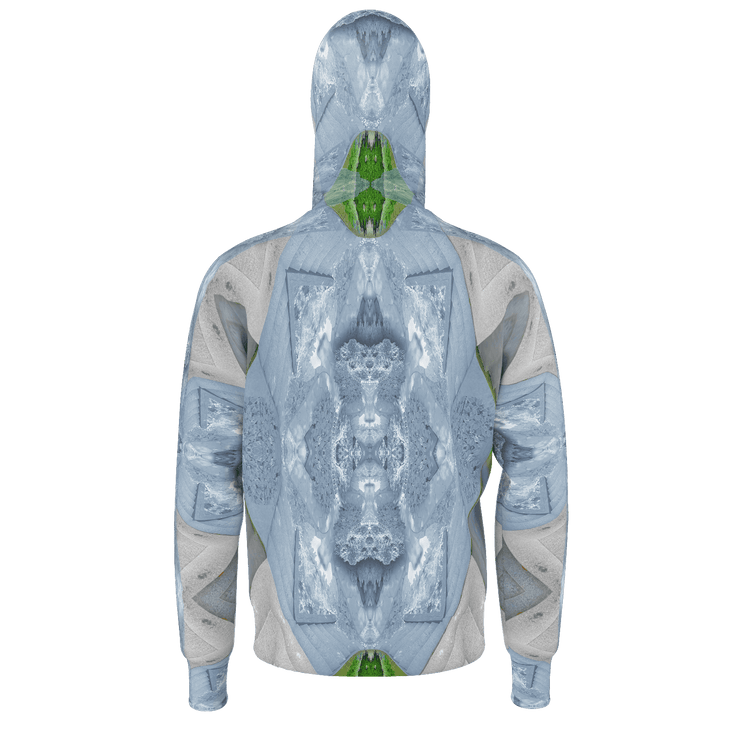 street flight all over print hoodie with trophy life 2 graphic-rear view