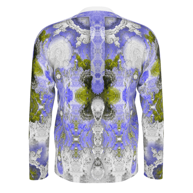 street flight all over print long sleeve t-shirt with my alchemical romance 2 graphic-rear view