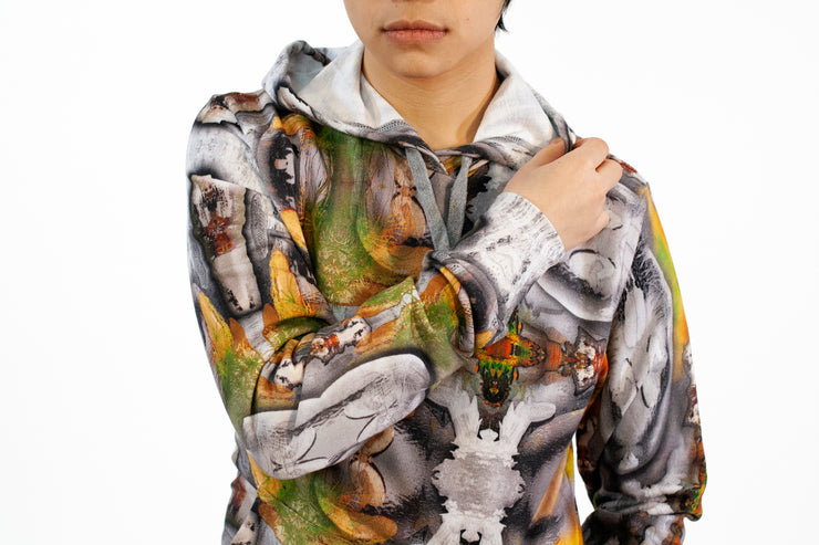 street flight all over print hoodie with my alchemical romance 3 graphic-detail