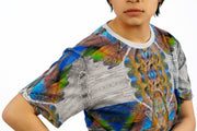 street flight all over print short sleeve t-shirt with my alchemical romance 1 graphic-detail