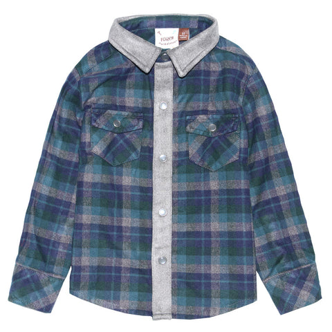The Hudson Flannel Shirt