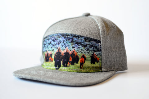 Buffalo Snapback - Rural Raised Couture