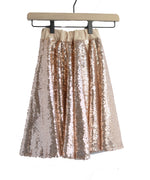 Blush Sequin Maxi Skirt - Rural Raised Couture