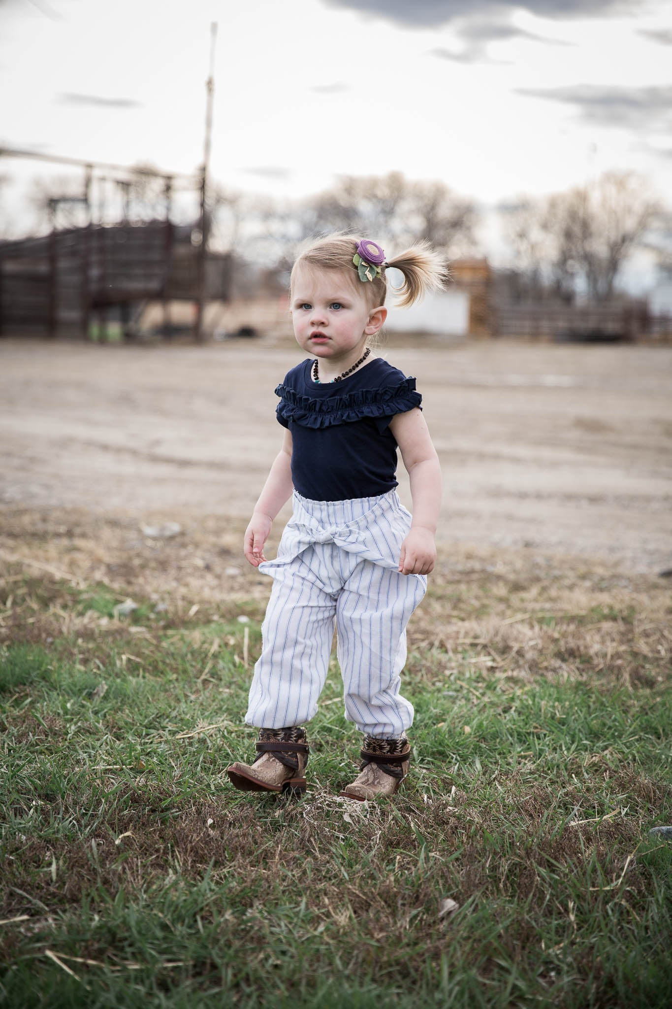 Bethany Wrap Pant - Rural Raised Couture