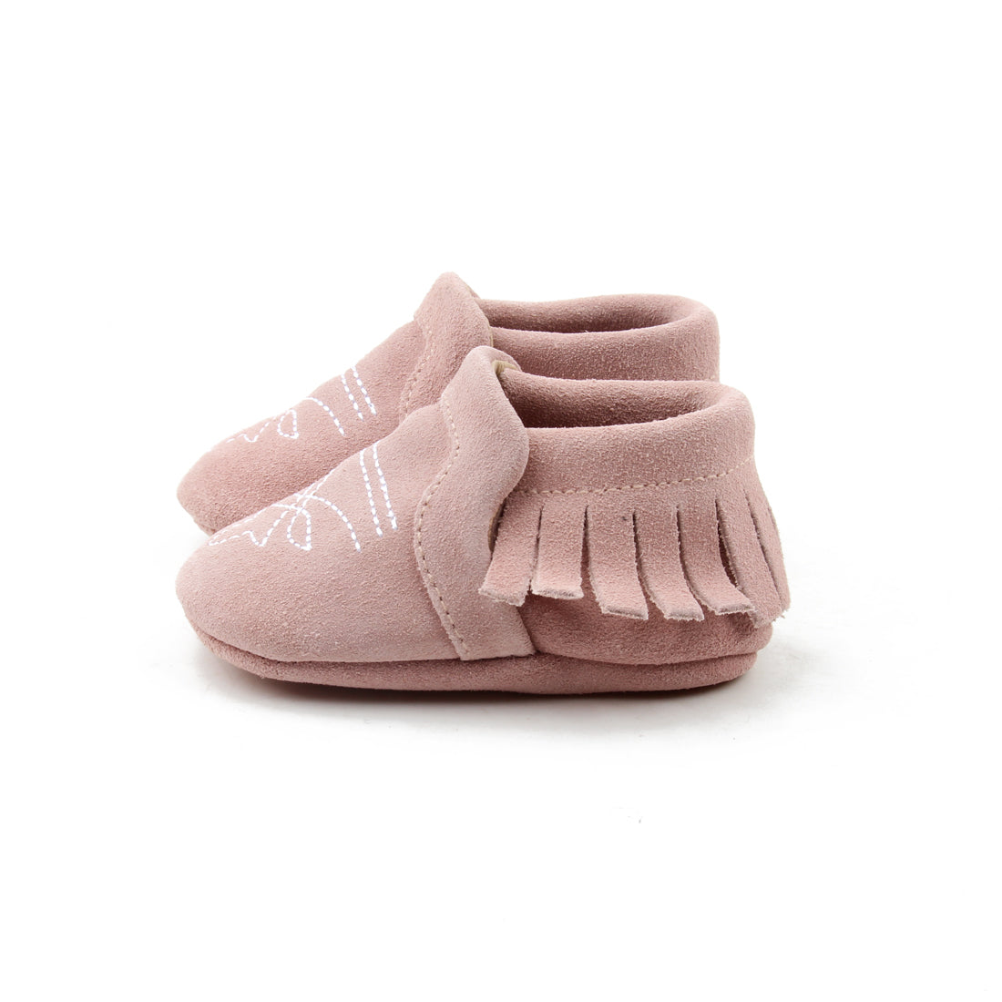 Bar 11 Couture Pink Suede Boot Mocc - Rural Raised Couture