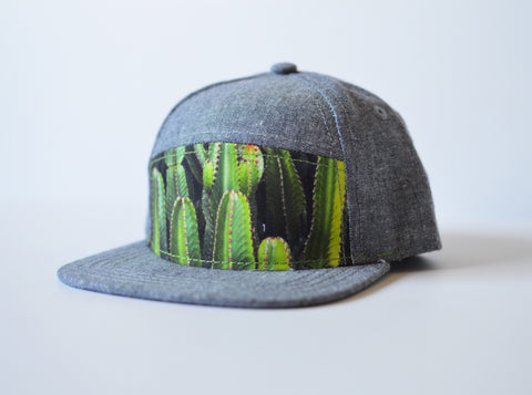 Cactus Snapback - Rural Raised Couture