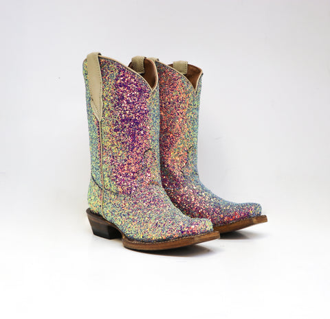 Mermaid Sparkle Boot-Blue