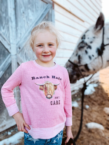 Ranch Hair Don't Care Sweatshirt