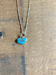 The Zuni Heart Necklace
