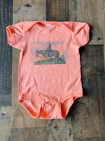 Cowgirl Watch Onesie