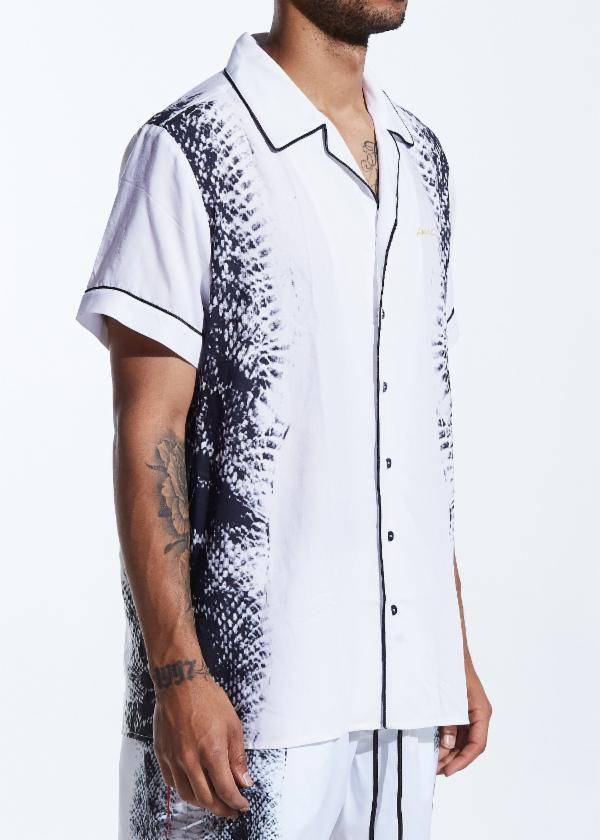 Spears Bowling Button Up (White)