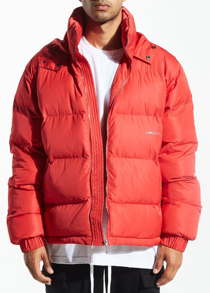Linda Down Jacket (Varsity Red)
