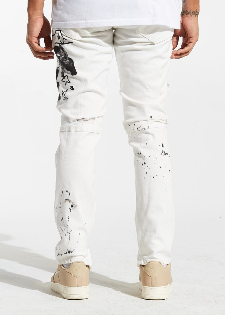 Bianca Denim (White)