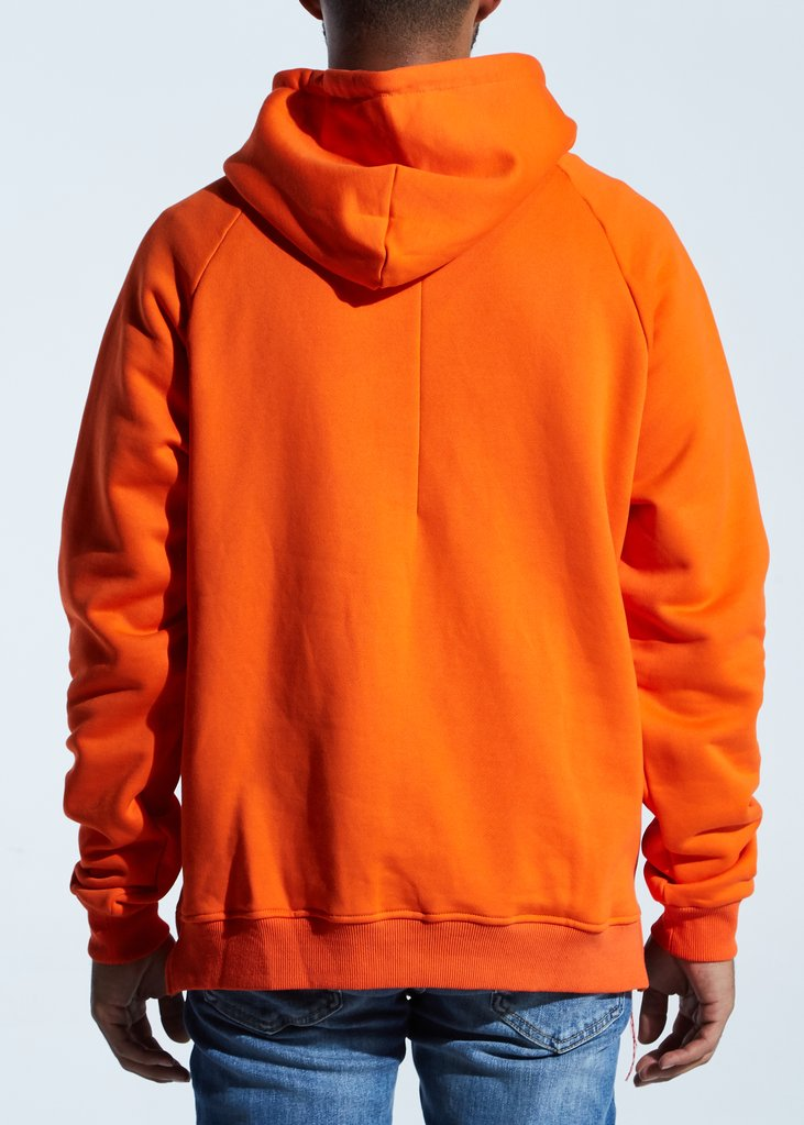 Harrison Logo Hoodie (Safey Orange)