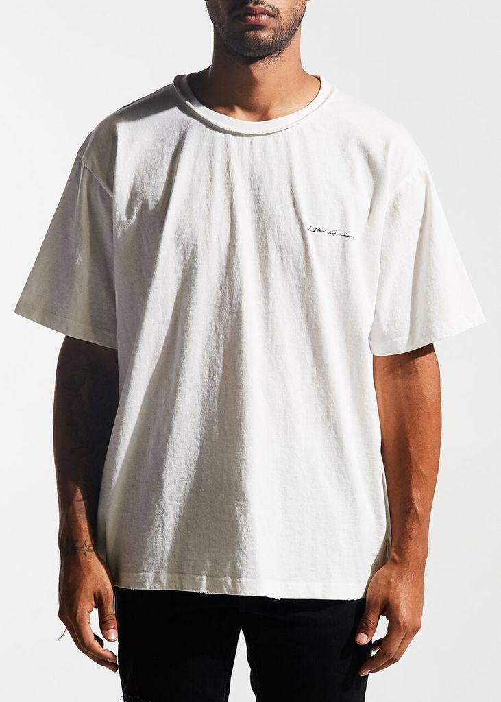 Lifted Logo Tee (Off-White)