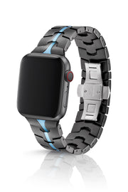 JUUK 40mm Vitero Cerulean Premium Aluminum Apple Watch Band