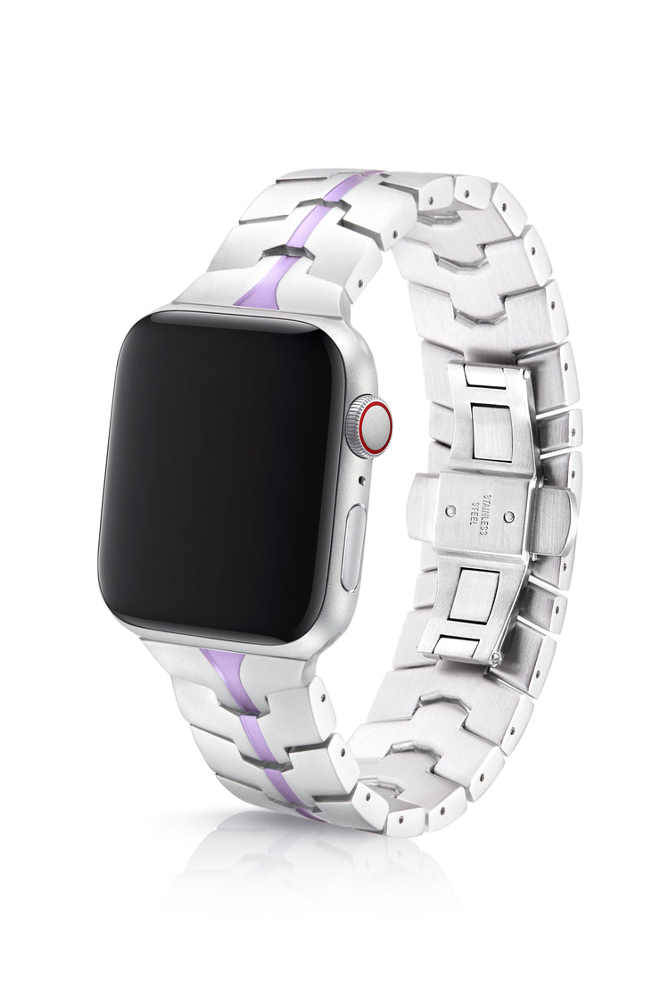 JUUK 40mm Vitero Lavender Premium Aluminum Apple Watch Band