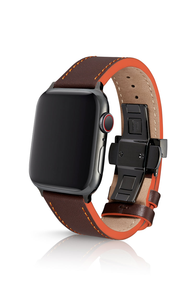 JUUK 40mm Korza Rez Premium Italian Leather Apple Watch Band